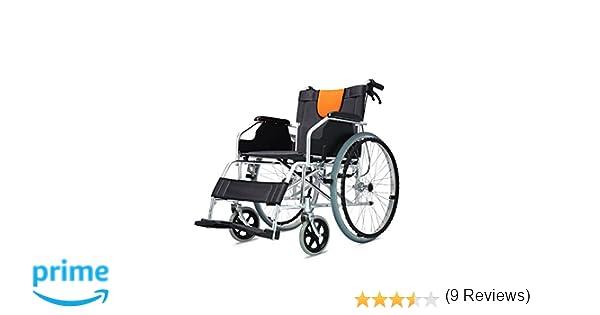 POLIRONESHOP LIGERA Silla de ruedas de aluminio plegable y ...