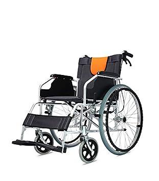 POLIRONESHOP LIGERA Silla de ruedas de aluminio plegable y autopropulsable: Amazon.es: Deportes y aire libre