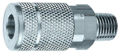 Amflo C9 Coupler, 1/2 TF and I/M Design, 1/2 MNPT, Steel