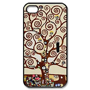 ALICASE Diy Customized hard Case Tree of Life For Iphone 4/4s [Pattern-1]