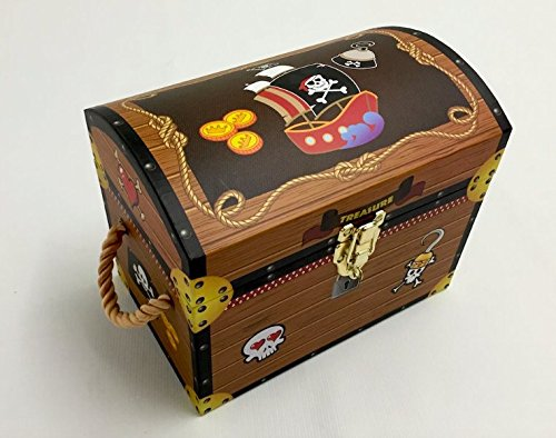 Merveilleux Boys Pirate Treasure Chests. Toy Box Trunk Storage. Jolly Roger   Small:  Amazon.co.uk: Kitchen U0026 Home