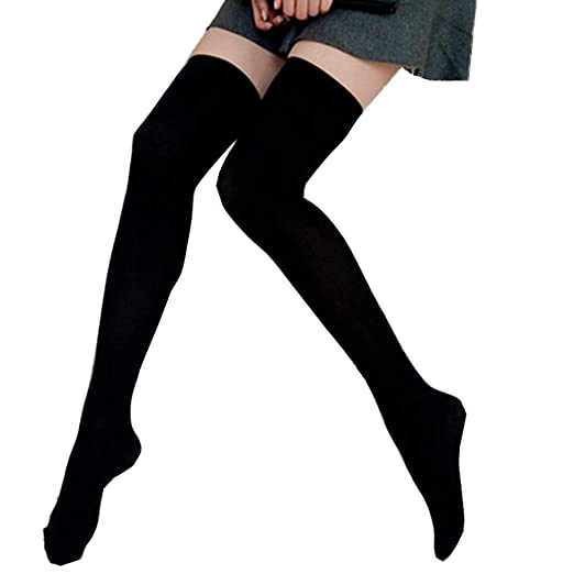 e8b3353de Image Unavailable. Image not available for. Color  Lanyan Womens Spring  Sexy Over Knee Leg Warmer Crochet Thigh High Boot Socks Girls Leggings
