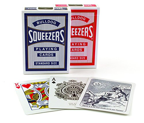 Bulldog Squeezers Playing Cards by Bulldog Squeezers