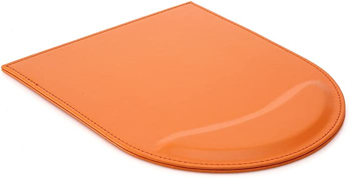 Leather Gaming Mouse Pad//Mat with Wrist Rest Support Non Slip Mousepad Large