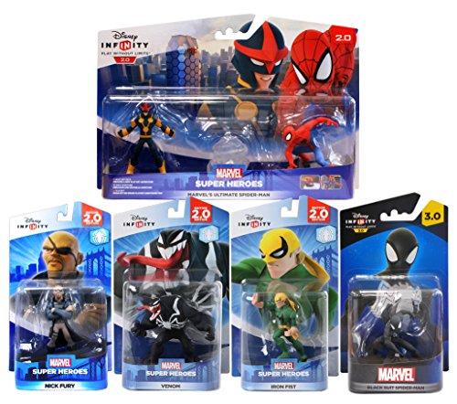 Disney Infinity - Spider-Man Bundle - Disney Infinity Black Spider Man