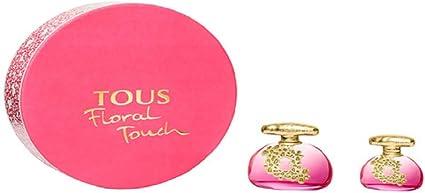 Tous Floral Touch - Agua de tocador con estuche de regalo, 100 + 30 ml: Amazon.es: Belleza
