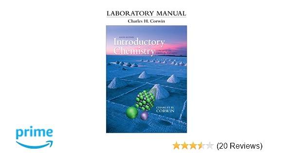 corwin labora manual introd chemi 6 6th edition charles h rh amazon com