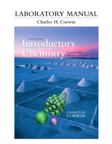Introductory Chemistry Lab.Manual