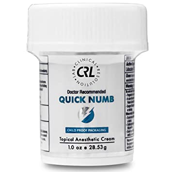 Amazon com: Quick Numb (1oz/28 53g) Topical Numbing Cream 5