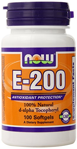 Now Foods E-200, Soft-gels, 100-Count