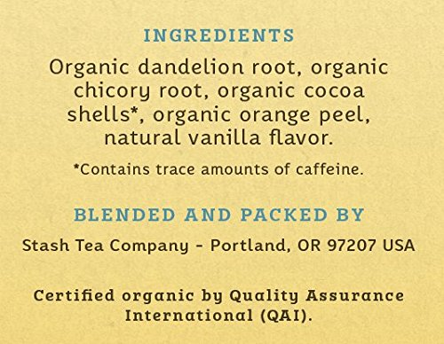 Buy roasted dandelion root tea bags