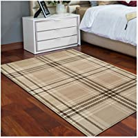 Superior Tartan Collection Area Rug, 8mm Pile Height with Jute Backing, Classic Designer Plaid Pattern, Fashionable Woven Rugs - 2 x 3 Runner