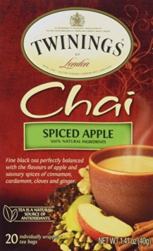 Twinings Spiced Apple Chai Tea, 1.41 oz, 20 ct