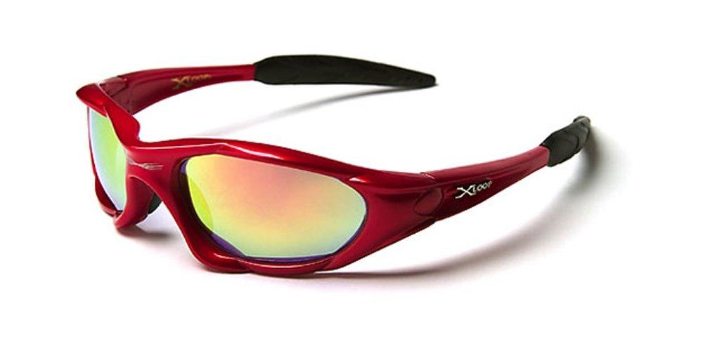 X-Loop 'Extreme' Lunettes de Soleil (Avec Etui) Sport - Cyclisme - Ski - Conduite - Moto - Taille Unique Adulte / Protection 100% UV400 (Etui Deluxe Vault Case Inclus) aXsuOX