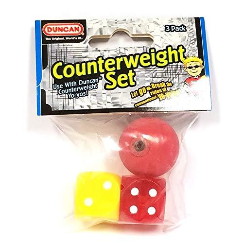 Duncan Yo-Yo Counterweight 3 pc Set