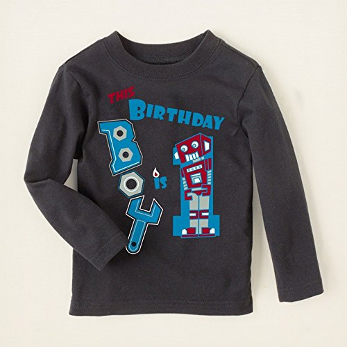 Image Unavailable Not Available For Color CP Childrens Place This Birthday Boy Is 1 Shirt
