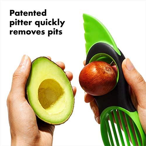 Core Remover Kit Avocado Tools Set f/ür die K/üche DUOCACL Obstschneider Avocado Slicer /& Saver Set