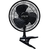 Active Air 7.5W Ultra Quiet Brushless Clip Fan, 8