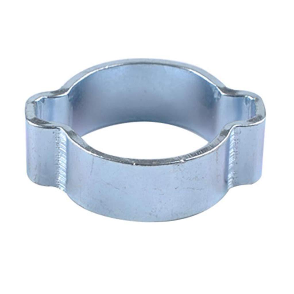 5-31mm Crimp Hose Clamp Assortment Kit H HILABEE 100x Stainless Steel Double Ear Hose Clamp Assortment Kit