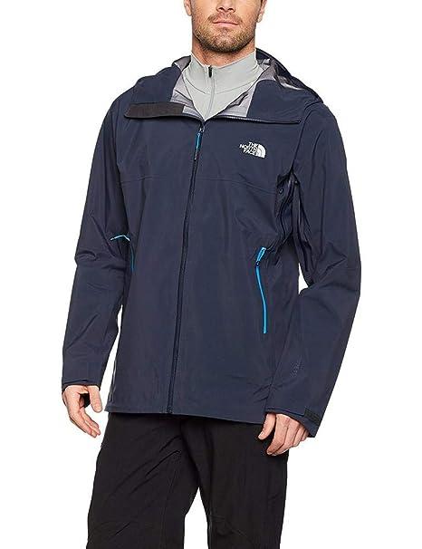 Detalles de North Face Extremo Abrigo Hombre XL Azul y Rojo Cremallera Completa,