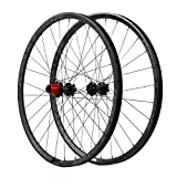 Image of mostoor 29er Carbon Mountain Bike Wheels for Cross Country MTB Hook Rim Wheelset Clincher and Tubeless