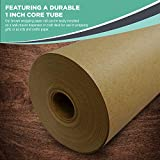 "Kraft Brown Wrapping Paper Roll 18"" x"