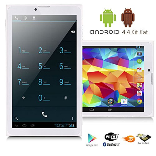"Indigi 3G GSM+WCDMA Phablet Smart Phone 7"" Tablet PC Android 4.4 GPS WiFi GSM Unlocked!"