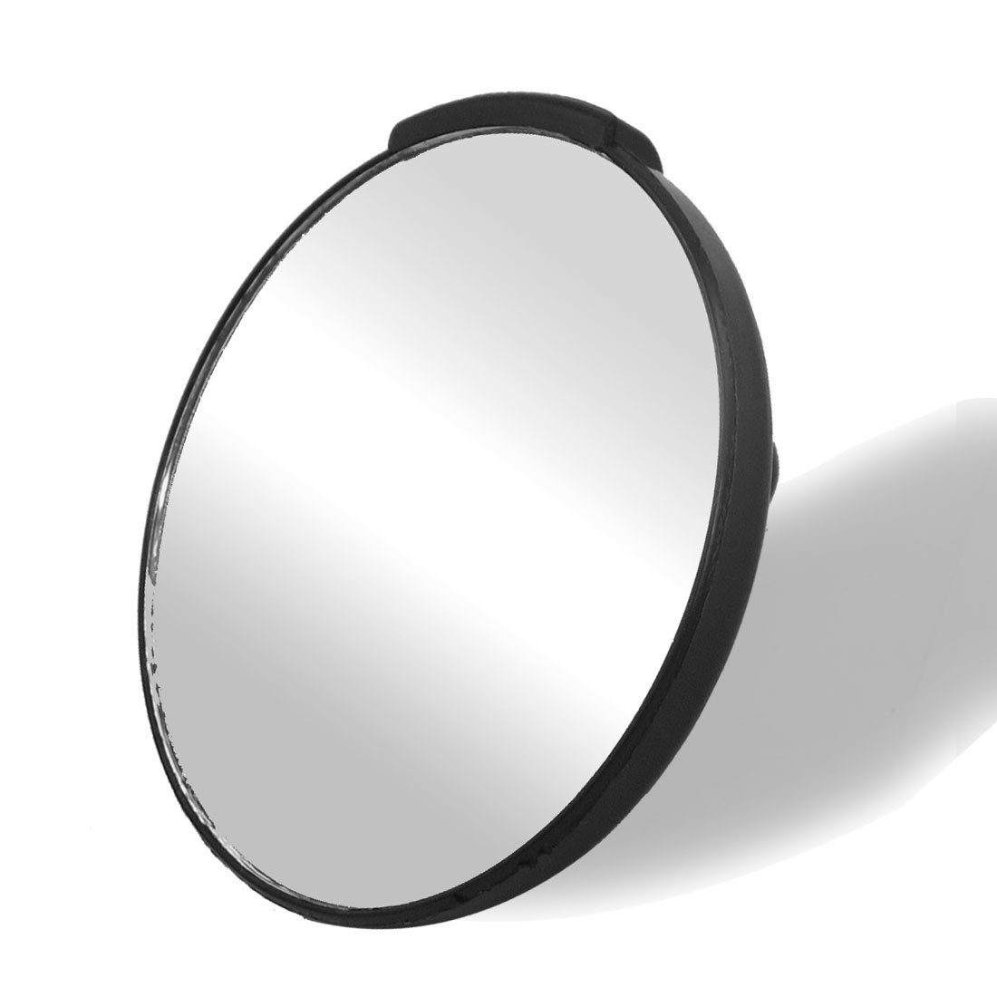 Auto Car Black Stick-on Wide Angle Round Rearview Blind Spot Mirror 3.15''