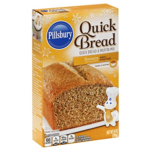 Pillsbury Quick Bread Mix, Banana, 14 oz