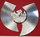 #5: Wu-Tang Clan Laser Cut Platinum Plated LP Record Wall Clock
