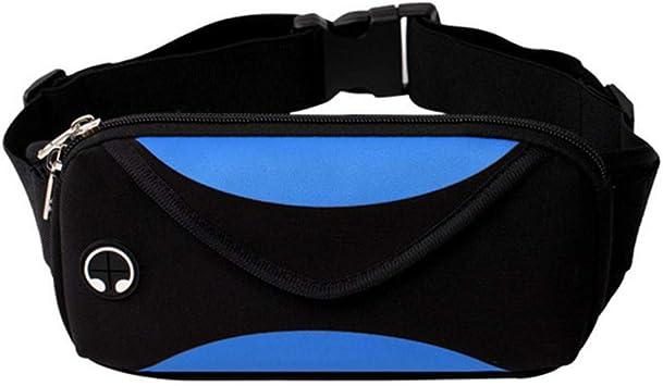 Waist Fanny Pack Phone Pouch Unisex Canvas Hip Bum Zipper Belt Bag Chest Purse