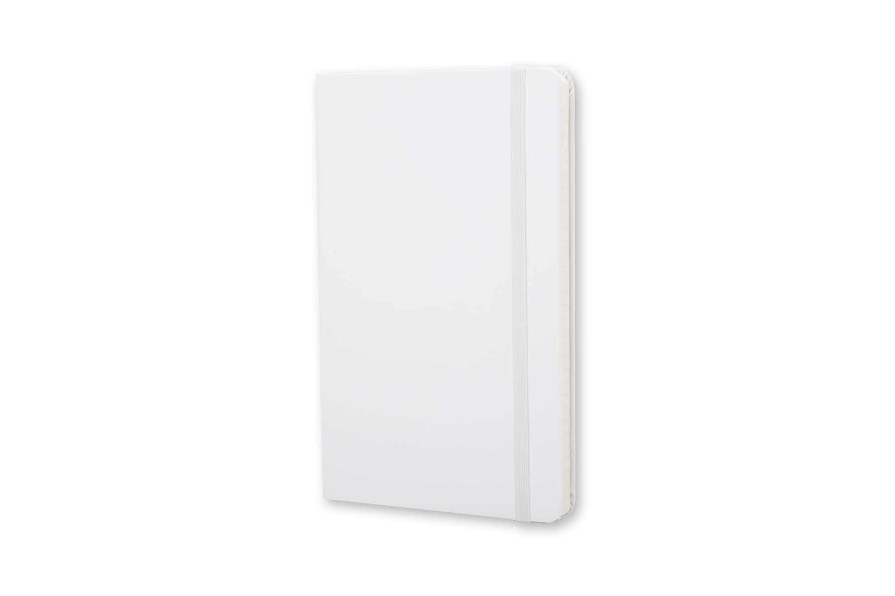 Moleskine Classic Notebook, Hard Cover, Large (5'' x 8.25'') Ruled/Lined, White by Moleskine (Image #2)