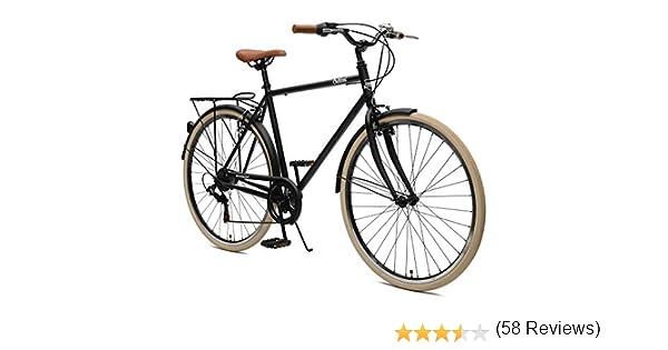Retrospec Beaumont-7 - Bicicleta Urbana de 7 velocidades para Hombre: Amazon.es: Deportes y aire libre