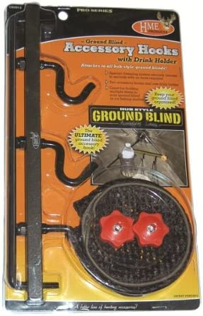 HME Products Mens Ground Blind Accessory Hook