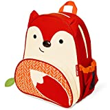 Skip Hop Zoo Little Kid and Toddler Backpack, Ferguson Fox, Red