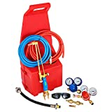 Mophorn Professional Portable Welding/Cutting/Brazing Outfit Torch Tool Kit with Plastic Carrying Stand