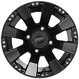 Sedona Spyder ATV Wheel - Black [12x7] 4x156 - (4+3) [570-1146]