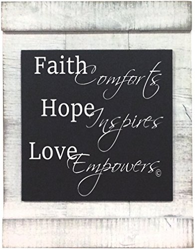 From My Mama's Kitchen - Faith Hope Love - a graceful and gentle reminder of how Faith soothe our soul, Hope ensures a new beginning, and looking through the lens of Love delivers confidence. by From My Mama's Kitchen