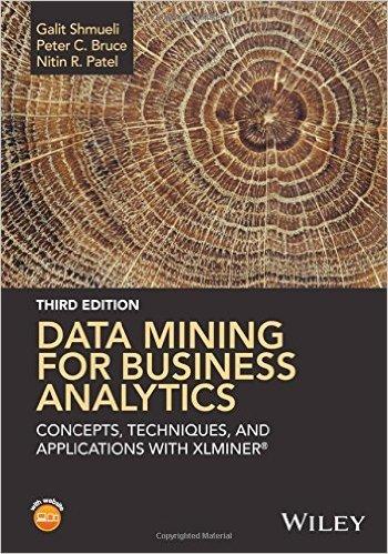 Data Mining F/Bus.Analytics W/Xlminer