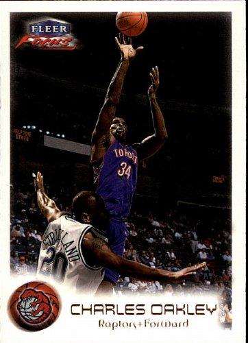 2000 Fleer Skybox - Charles Oakley - Raptors - Card # - Raptor Oakley