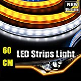 Best Daytime Running Led Strips - 60CM Ultrathin LED Strip Lights DRL Daytime Running Review