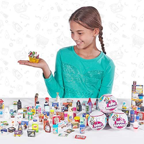 5 Surprise Mini Brands Collectors Case Series 1 by Zuru (Includes 2 Mini Toys)