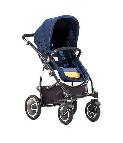 JJLL Cochecito de Viaje 3 en 1 para Autos para niños Elegir,Blue