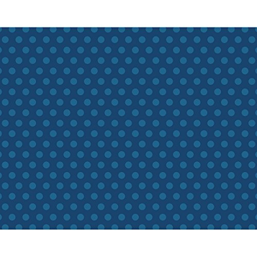 We R Memory Keepers Navy Dots We R Designer Posterboard, 22''X28'' by We R Memory Keepers