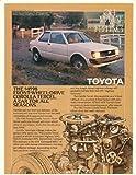 1982 Toyota Corolla Tercel 2-Door Sedan Original Print Ad (19568)