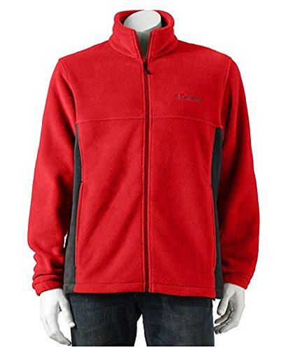 Columbia Men's Flattop Mountain Easy-Care Fleece Jacket, ...