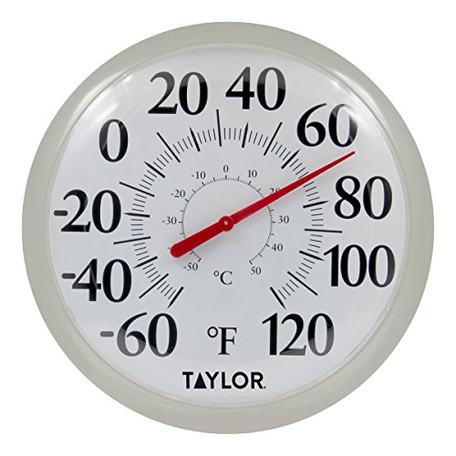 Taylor Precision Products 6700SV Big & Bold Thermometer, 13.25, Silver