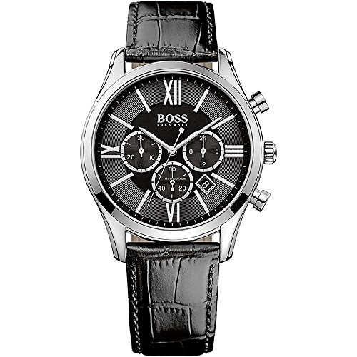 Hugo Boss Men's 1513194 Black Stainless Steel Watch