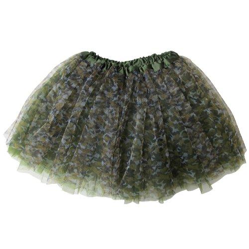 Modern Family Halloween Cheerleader (So Sydney Ballerina Basic Girls Ballet Dance Dress-Up Princess Fairy Costume Dance Recital Tutu (Green)