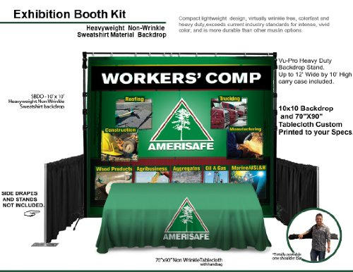 Complete Display Exhibit Ft backdrop Tablecloth product image